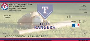 Texas Rangers(TM) MLB(R) Personal Checks