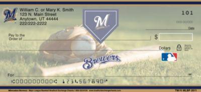 Milwaukee Brewers(TM)  MLB(R) Personal Checks