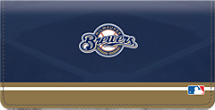 Milwaukee Brewers MLB Baseball Checkbook Cover
