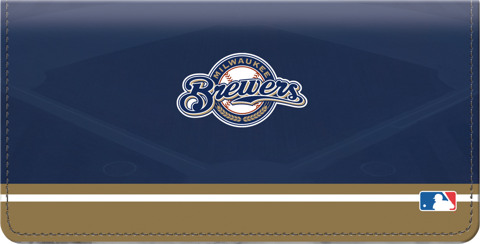 Milwaukee Brewers(TM) MLB(R) Checkbook Cover