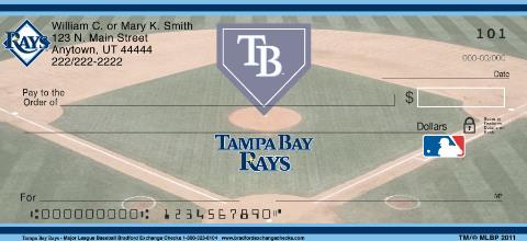 Tampa Bay Rays Checks