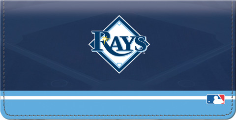 Tampa Bay Rays(TM) MLB(R) Checkbook Cover