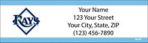 Tampa Bay Rays(TM) MLB(R) Return Address Label