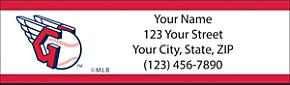 Cleveland Indians(TM) MLB(R) Return Address Label