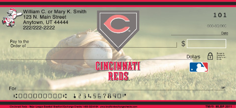 Cincinnati Reds(TM) MLB(R) Personal Checks