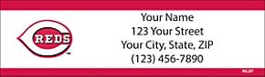 Cincinnati Reds(TM) MLB(R) Return Address Label