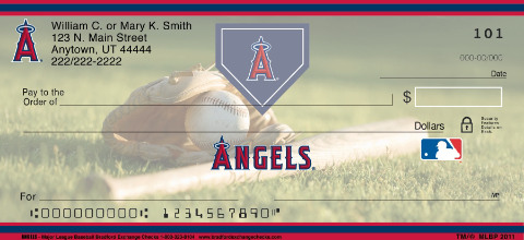 Los Angeles Angels of Anaheim(TM) MLB(R) Personal Checks