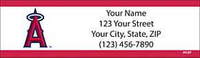 Los Angeles Angels of Anaheim(TM) MLB(R) Return Address Label