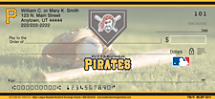 Pittsburgh Pirates Major League Baseball Personal Checks