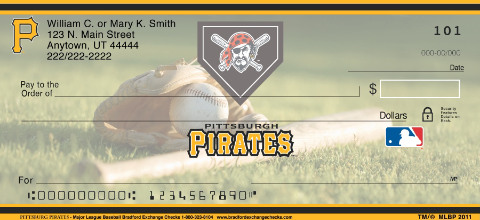 Pittsburgh Pirates(TM) MLB(R) Personal Checks