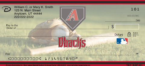Arizona Diamondbacks(TM) MLB(R) Personal Checks