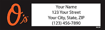 Baltimore Orioles™ MLB® Return Address Label