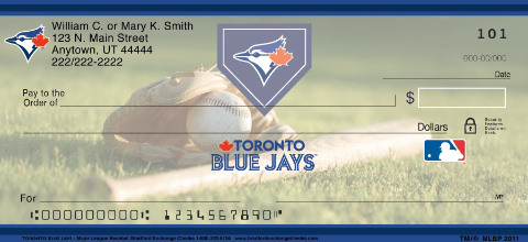 Toronto Blue Jays(TM) MLB(R) Personal Checks