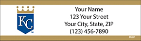 Kansas City Royals(TM) MLB(R) Return Address Label