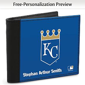Kansas City Royals(TM) MLB(R) Men's Logo  RFID Wallet