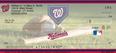Washington Nationals(TM) MLB&reg Personal Checks