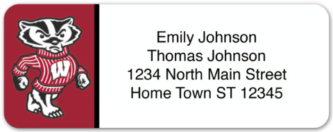 University of Wisconsin Return Address Label