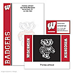 University Of Wisconsin Personalized Stationery