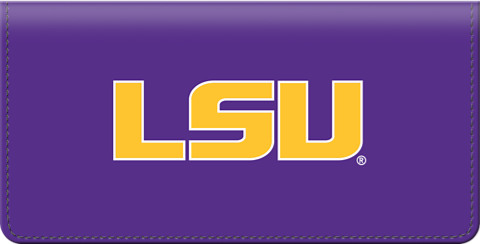 Louisiana State University Checkbook Cover