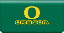 University of Oregon Checkbook Cover
