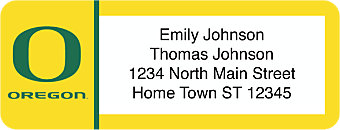 University of Oregon Return Address Label