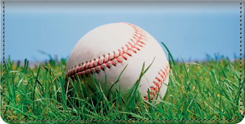 Baseball Checkbook Cover
