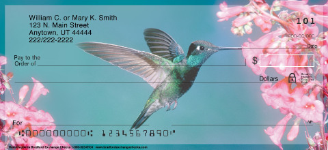 Hummingbirds Personal Checks