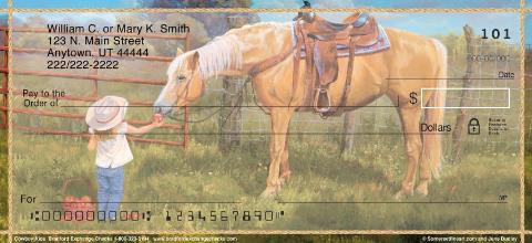 Cowboy Kids Personal Checks