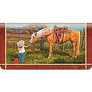 Bradford Exchange Checks Cowboy Kids Checkbook Cover at Sears.com