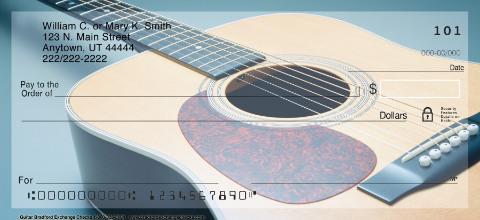 Guitar Personal Checks