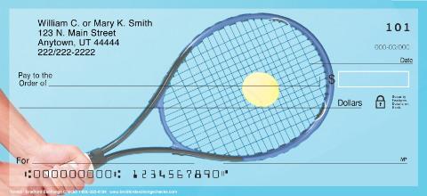 Tennis Personal Checks
