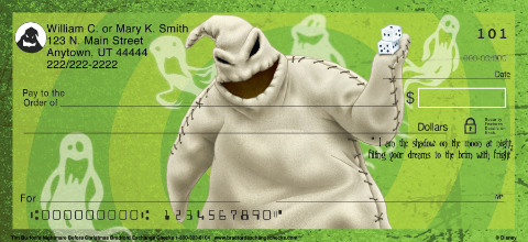 The Nightmare Before Christmas Personal Checks