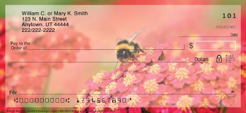 Bumble Bee Buzz Personal Checks