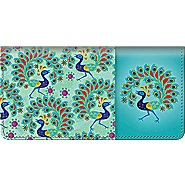 Bradford Exchange Checks Challis & Roos Peacock Paradise Checkbook Cover at Sears.com