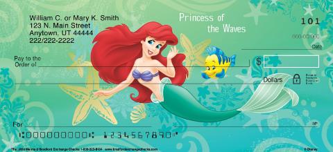 The Little Mermaid Personal Checks