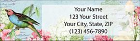 Garden Whispers Return Address Label