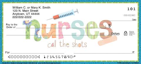 Nurses Call The Shots Personal Checks