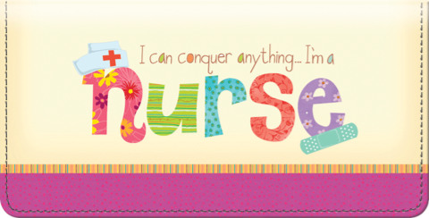 Nurses Rule! Checkbook Cover