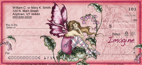 Fairy Inspirations Personal Checks