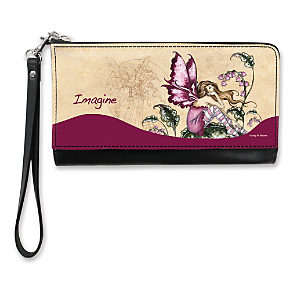 Fairy Inspirations Large Wristlet Purse