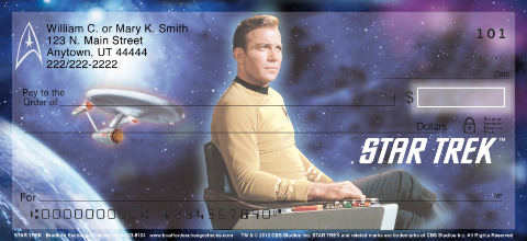 Star Trek Personal Checks