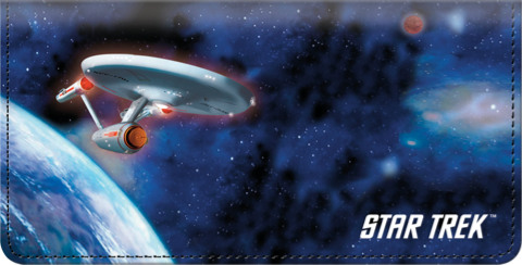 Star Trek Checkbook Cover