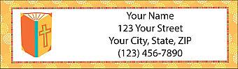 Words of Faith Return Address Label