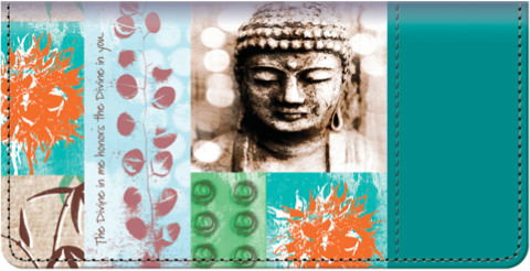 Zen Balance Checkbook Cover