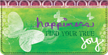 Find Your True Joy Checkbook Cover