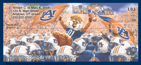 War Eagle Spirit Personal Checks