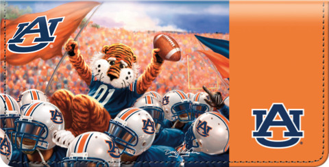 War Eagle Spirit Checkbook Cover