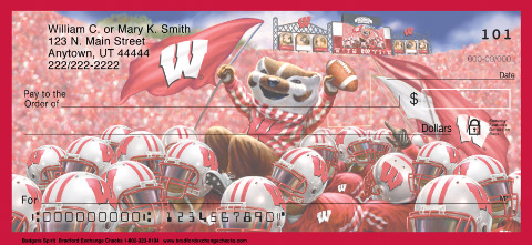 Badger Spirit Personal Checks