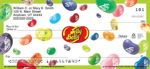 Jelly Belly Personal Checks
