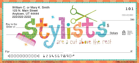 Hairstylists Rule! Personal Checks